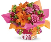 Teleflora's Rosy Birthday Present in Nationwide MI, Wesley Berry Florist, Inc.