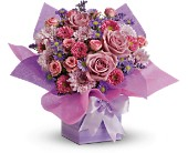 Teleflora's Perfectly Purple Present in Nationwide MI, Wesley Berry Florist, Inc.