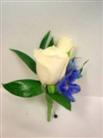 Spray Rose Boutonniere in Belleville ON, Live, Love and Laugh Flowers, Antiques and Gifts