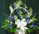 Sympathy Basket in Columbia TN, Doris' Flowers & Gifts