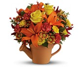 Teleflora's Tuscan Garden Bouquet - Deluxe in Maple ON, Jennifer's Flowers & Gifts