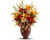 Teleflora's Falling Leaves Vase Bouquet in Altamonte Springs FL, Altamonte Springs Florist
