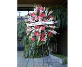 Tropical Standing Spray in Honolulu, Hawaii, Stanley Ito Florist