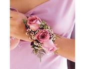 Lavender Roses Wristlet in Batavia, Illinois, Batavia Floral in Bloom, Inc