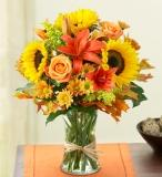 Fall Gathering - Medium in Ambridge PA, Heritage Floral Shoppe