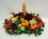 Give Thanks Centrepeice in Belleville ON, Live, Love and Laugh Flowers, Antiques and Gifts