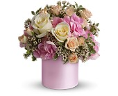 Teleflora's Blushing Beauty in Milford MA, Francis Flowers, Inc.