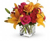 Teleflora's Uniquely Chic in Mount Morris MI, June's Floral Company & Fruit Bouquets