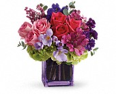 Exquisite Beauty by Teleflora in Warsaw KY, Ribbons & Roses Flowers & Gifts