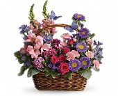 Country Basket Blooms in Santa Rosa CA, La Belle Fleur Design