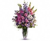 Steal The Show by Teleflora with Roses in Warsaw KY, Ribbons & Roses Flowers & Gifts