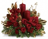 Candlelit Christmas in Waukegan IL, Pope's Florist, Ltd.