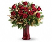A Christmas Dozen in Kirkland WA, Fena Flowers, Inc.