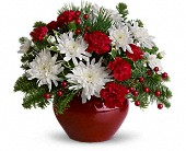 Christmas Treasure in San Clemente CA, Beach City Florist