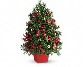 Bronx Flowers - Deck the Halls Tree - Michael's Bronx Florist, Inc.