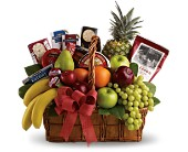 Bon Vivant Gourmet Basket in New Port Richey FL, Holiday Florist