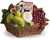 Delicious Delights Basket in Dublin OH, Red Blossom Flowers & Gifts