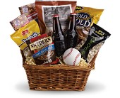 Take Me Out to the Ballgame Basket in Montgomery TX, Pecan Hill Florist & Gifts