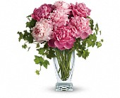 Teleflora's Perfect Peonies in Worcester MA, Perro's Flowers