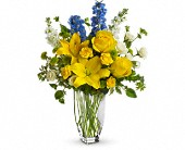 Meet Me in Provence by Teleflora in Royersford PA, Three Peas In A Pod Florist