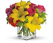 Teleflora's Sunsplash in Eastchester NY, Roberts For Flowers