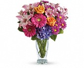 Wondrous Wishes by Teleflora in Mount Morris MI, June's Floral Company & Fruit Bouquets