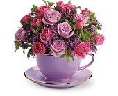 Teleflora's Cup of Roses Bouquet in Shawnee OK, Shawnee Floral