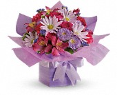 Teleflora's Lovely Lavender Present in Flower Delivery Express MI, Flower Delivery Express