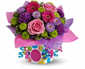 Teleflora's Confetti Present in New Britain CT, Weber's Nursery & Florist, Inc.