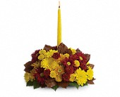 Harvest Happiness Centerpiece in Smyrna GA, Floral Creations Florist