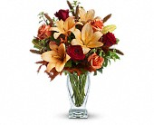 Teleflora's Fall Fantasia in Friendswood TX, Lary's Florist & Designs LLC