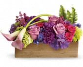 Teleflora's Ticket to Paradise in Bedford NH, PJ's Flowers & Weddings