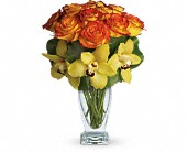 Teleflora's Aloha Sunset in Brooklyn NY, Beachview Florist