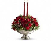 Teleflora's Mercury Glass Bowl Bouquet in Oakville, Ontario, Oakville Florist Shop