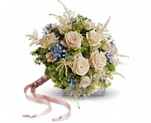 Lovely as a Rose Bouquet in Bellevue WA, DeLaurenti Florist