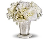 Teleflora's Angel Centerpiece in Portland TX, Greens & Things