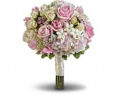 Pink Rose Splendor Bouquet in Norwich NY, Pires Flower Basket, Inc.