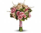 Rose Meadow Bouquet in Santa Claus IN, Evergreen Flowers & Decor