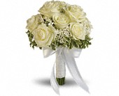 Lacy Rose Bouquet in Columbus IN, Fisher's Flower Basket
