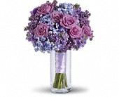 Lavender Heaven Bouquet in Norwich NY, Pires Flower Basket, Inc.