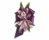 Exquisite Orchid Wristlet in San Francisco CA, Rose & Leona's Flower Shop
