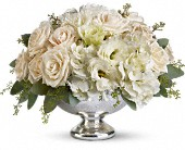 Teleflora's Park Avenue Centerpiece in Bluffton, Indiana, Posy Pot