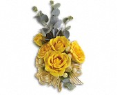 Sunswept Corsage in Edmonton AB, Petals For Less Ltd.