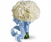 Sweet White Bouquet in Fairfield OH, Novack Schafer Florist