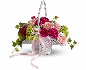Flower Girl's Dream Basket in Mitchell, South Dakota, Nepstads Flowers And Gifts