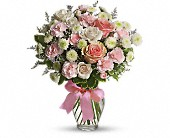 Mt Vernon Flowers - Cotton Candy - Michael's Bronx Florist, Inc.