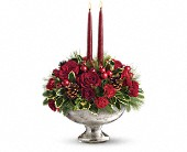 Teleflora's Mercury Glass Bowl Bouquet in Seattle WA, Hansen's Florist