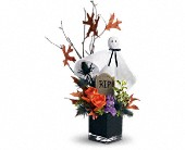 Teleflora's Ghostly Gardens in Northport NY, The Flower Basket
