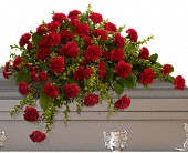 Adoration Casket Spray in Laconia NH, Prescott's Florist, LLC
