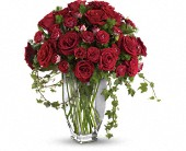 Teleflora's Rose Romanesque Bouquet - Red Roses in Lindon, Utah, Bed of Roses